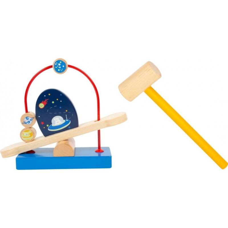 Jeu du marteau - L'espace-Motricité et apprentissage-Jouets à marteler en bois | BambinBois