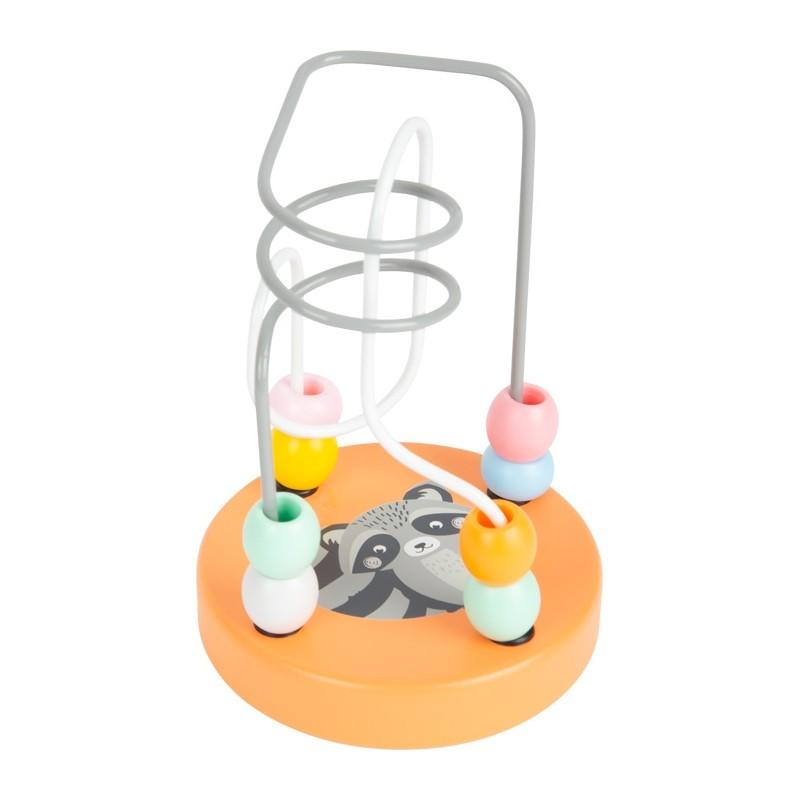 Circuit de motricité - Raton laveur-Motricité et apprentissage-Jouets à encastrer en bois | BambinBois