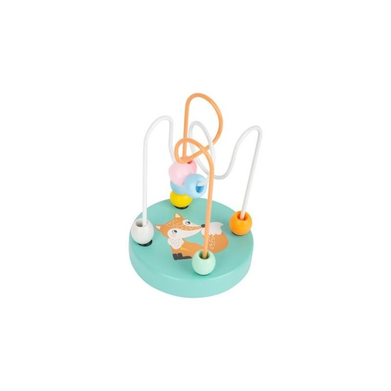 Circuit de motricité pastel -  Renard-Motricité et apprentissage-Jouets de motricité en bois en bois | BambinBois