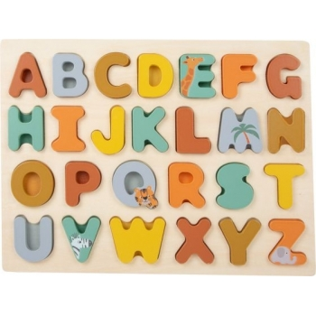 Puzzle ABC - Safari