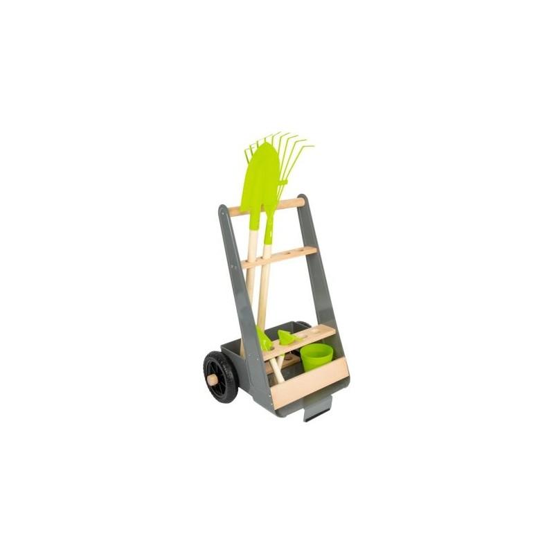 Chariot de jardin -  kit complet-Jouets de plein air et de mouvement-Jouets à encastrer en bois | BambinBois