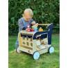 Chariot de marche - Baleine-Jouets pour bébé-Jouets de motricité en bois en bois | BambinBois