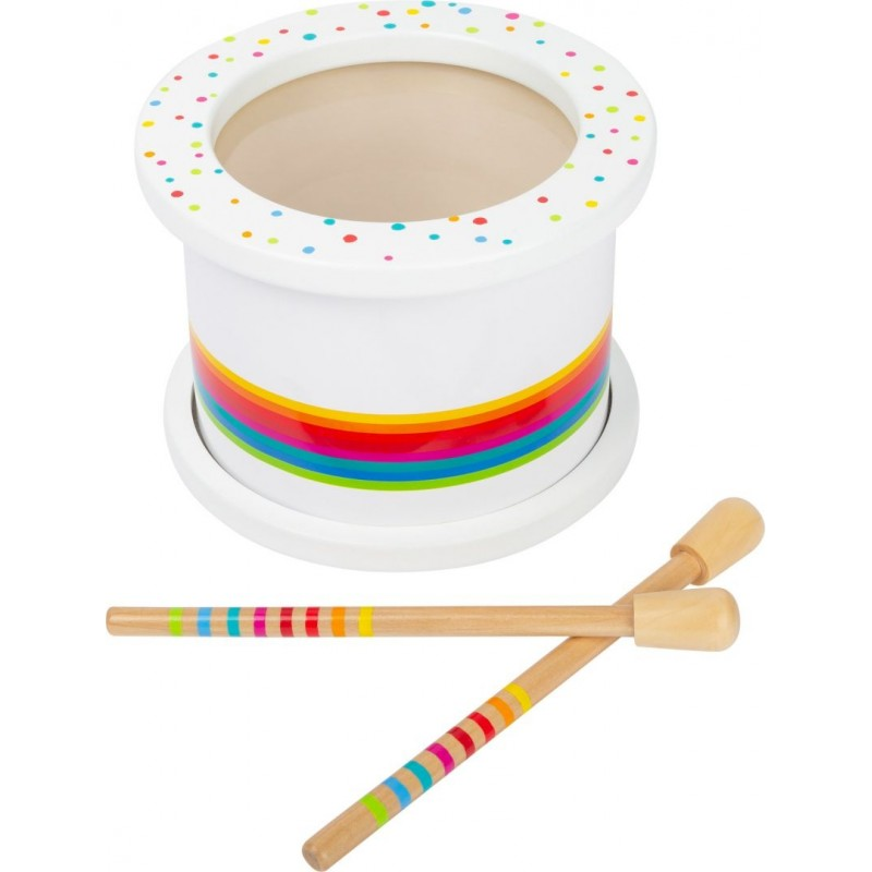 Tambour pour enfants  - Sound-Musique et sons-Jouets à encastrer en bois   BambinBois