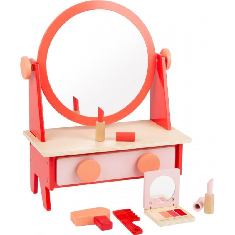 Coiffeuse Rétro avec miroir-Jeux de rôles-Jouets éducatifs en bois | BambinBois