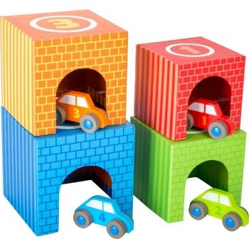 Cubes à empiler  - Voitures