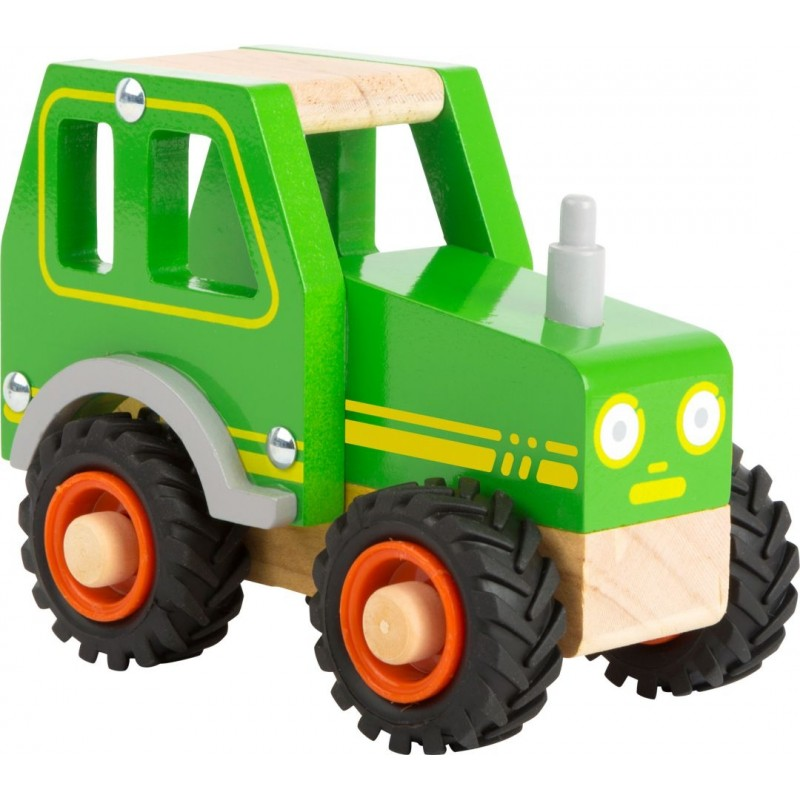 Tracteur-Véhicules et univers de jeu-Jouets à encastrer en bois | BambinBois