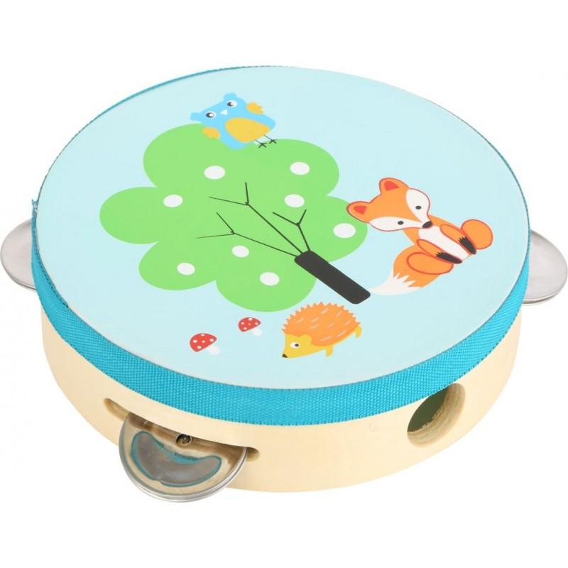 Tambourin Petit renard-Musique et sons-Instruments de musique | BambinBois