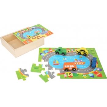 """Boîte de puzzle """"Circulation"""""""