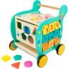 Chariot de marche - Eléphant-Jouets pour bébé-Chariots de marche en bois | BambinBois