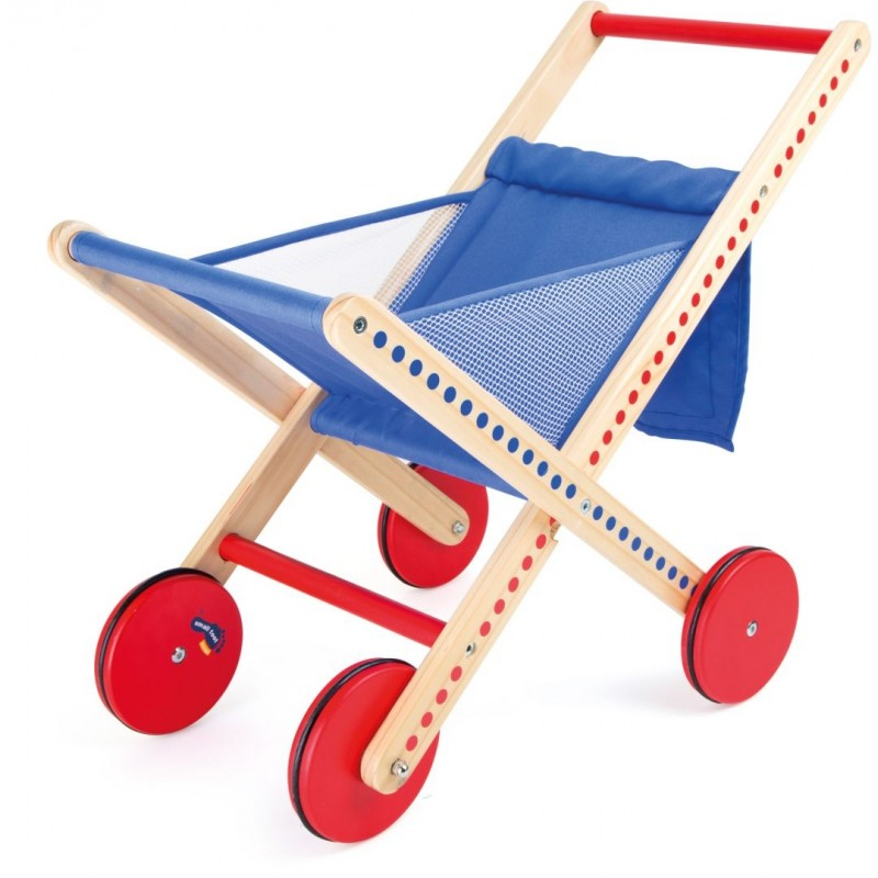 Caddie de supermarché pliable «Petits points»-Jeux de rôles | BambinBois