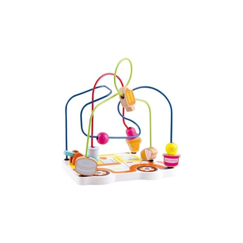 Circuit de motricité - Crème glacée-Motricité et apprentissage | BambinBois