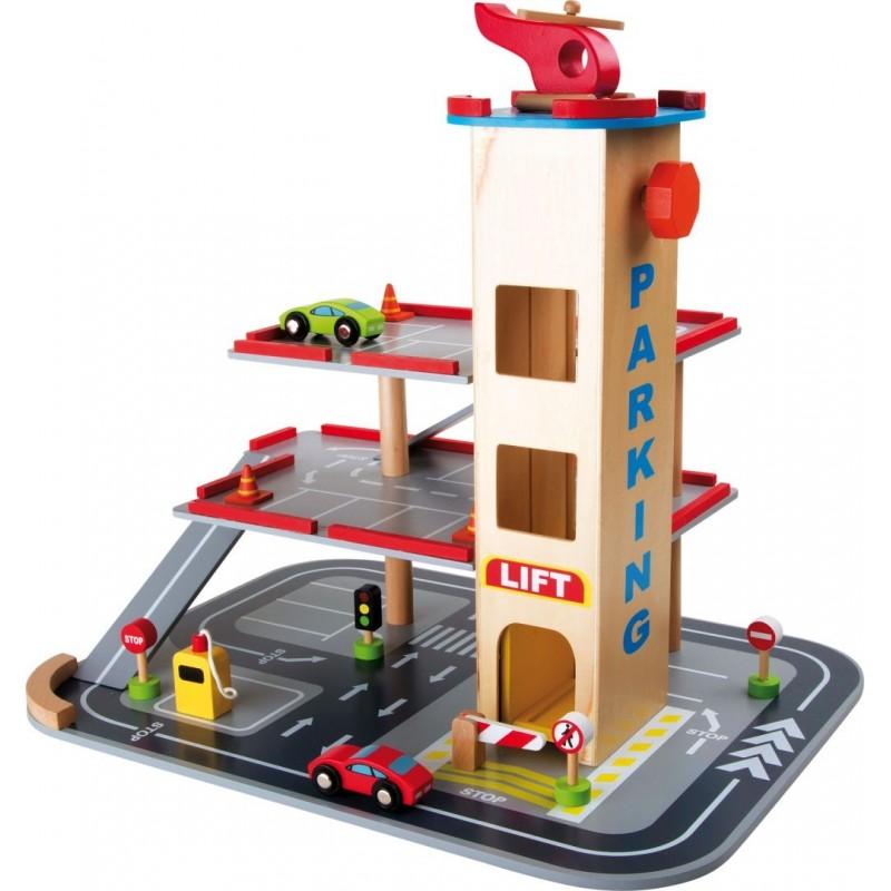 Parking - Descente rapide-Véhicules et univers de jeu | BambinBois
