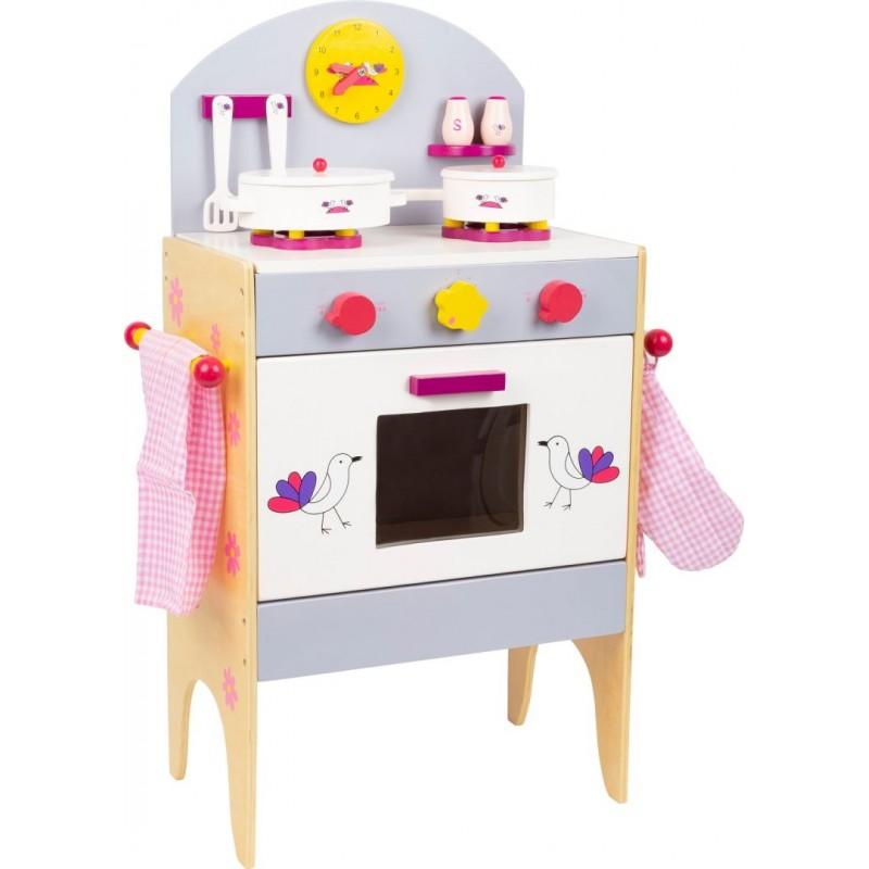 Cuisinière avec accessoires-Jeux de rôles-Dans la cuisine | BambinBois
