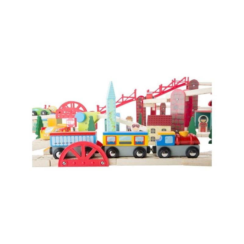 Chemin de fer  - Ma ville-Véhicules et univers de jeu | BambinBois