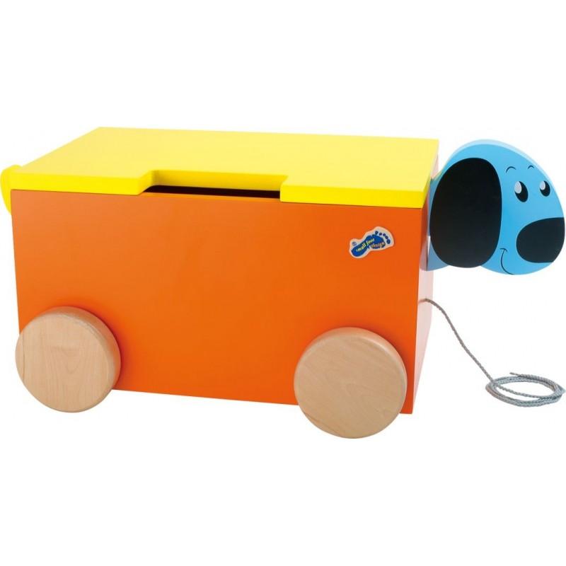 Caisse à jouets - Chien-Chambre d´enfant et accessoires   BambinBois