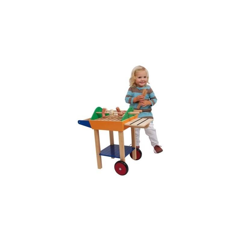 Barbecue-Jeux de rôles-Dans la cuisine | BambinBois