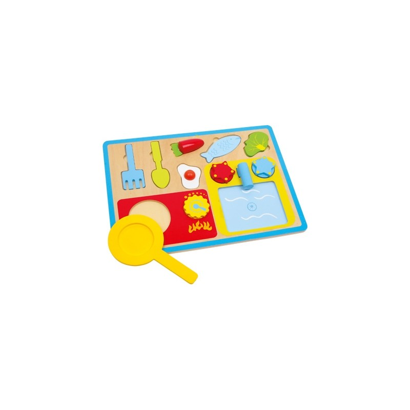Puzzle - Déjeuner-Jeux de rôles | BambinBois