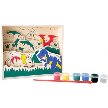 Image à colorier en bois...