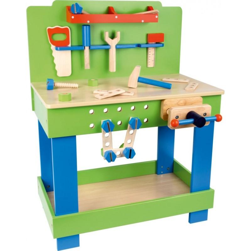 Etabli en bois enfant-Jeux de rôles-Bricolage en bois   BambinBois