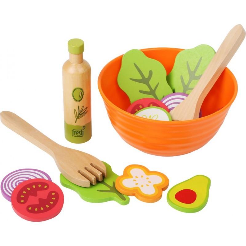 Set de jeu - Salade-Jeux de rôles-Dans la cuisine en bois | BambinBois