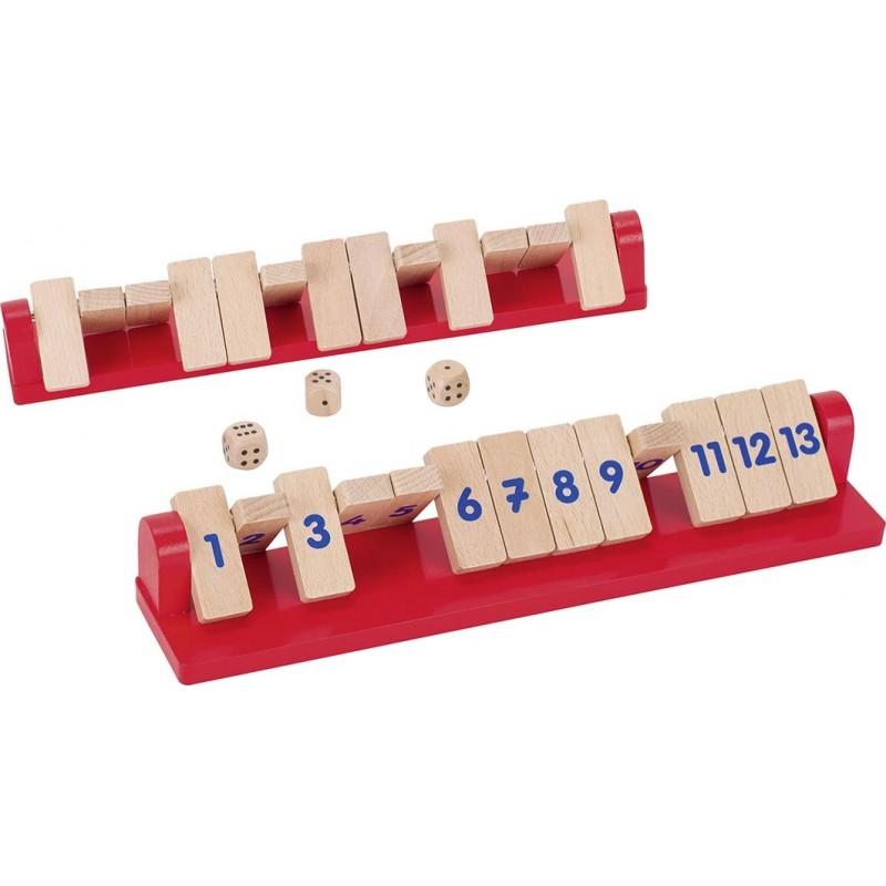 Shut the box - Sacré 13 - Faites tomber les chiffres