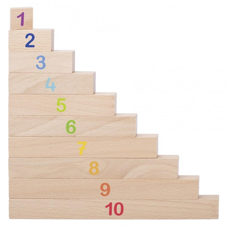 Reglette de calcul - Jeu éducatif et pédagogique en bois