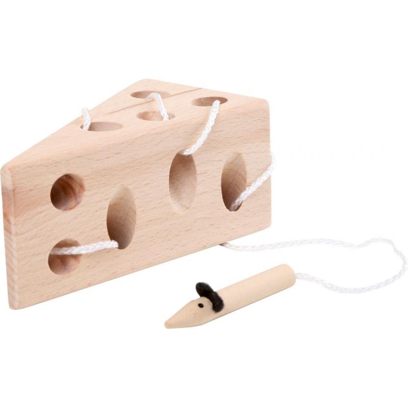 Jeu de dextérité en bois - Le fromage et la souris - SmallFoot