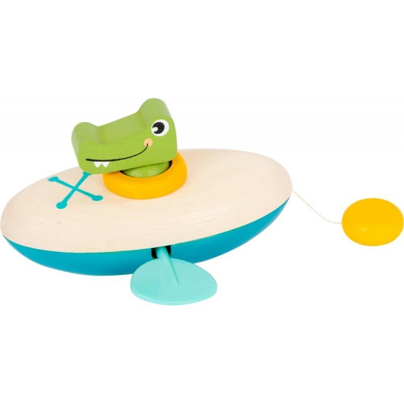 Le crocodile en canoë - Jouet aquatique