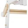 Chaise haute en bois transformable pour poupées