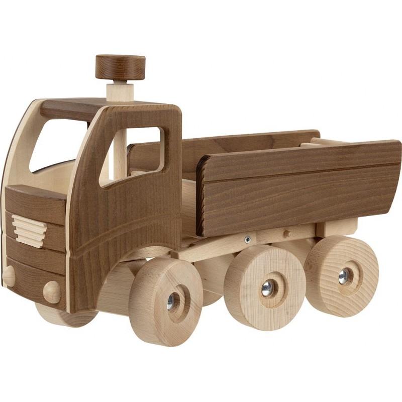 Camion-benne en bois - goki nature| Bambin Bois, jeux et jouets en bois