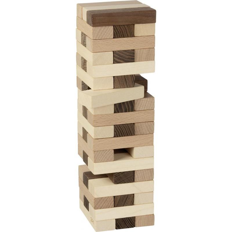 Tour en bois à construire - cube en bois - goki nature| Bambin Bois, jeux et jouets en bois