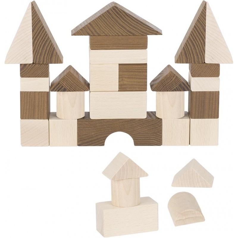 Jeu de construction 30 pièces, goki nature | Bambin Bois, jeux et jouets en bois