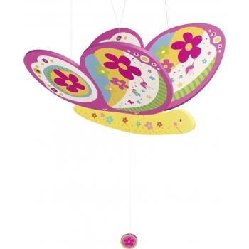 Mobile en bois - Papillon