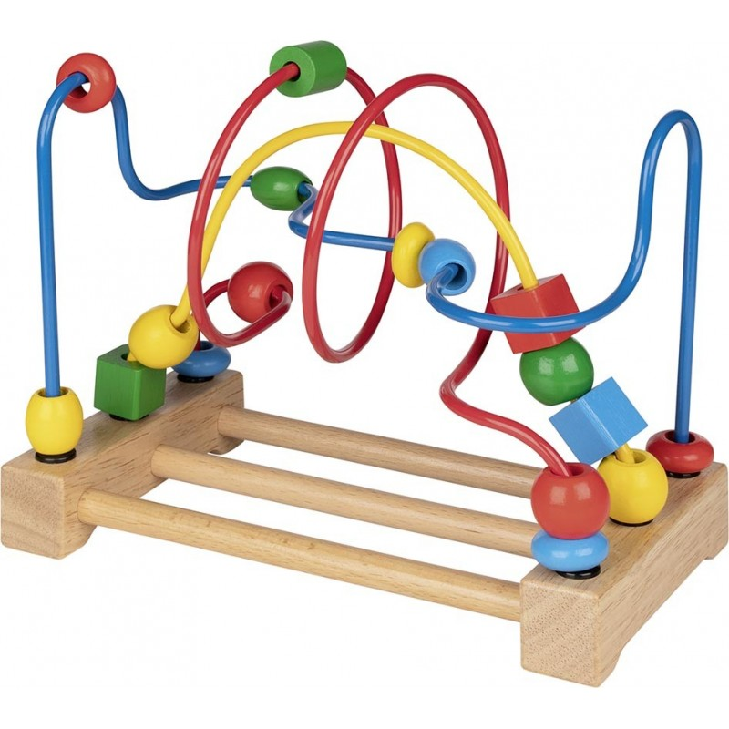 Circuit en bois pour billes  Bambin Bois, jeux et jouets en bois