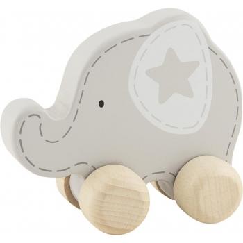 Éléphant en bois à saisir