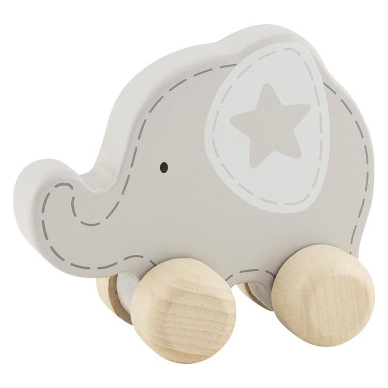Éléphant en bois à saisir| Bambin Bois, jeux et jouets en bois