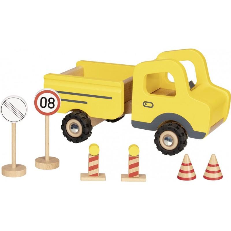 Camion avec panneaux| Bambin Bois, jeux et jouets en bois