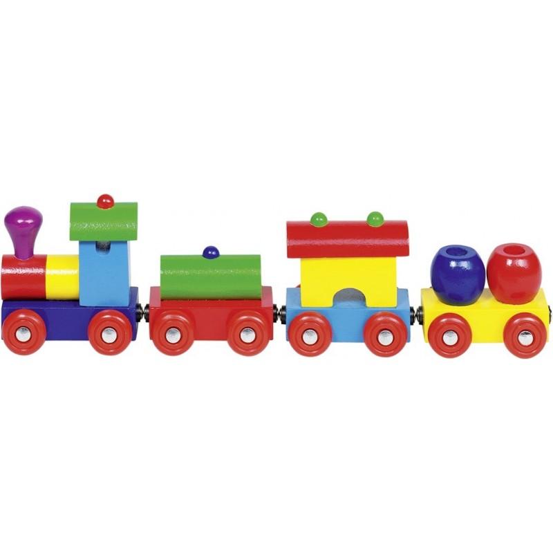 Train en bois - Peru| Bambin Bois, jeux et jouets en bois