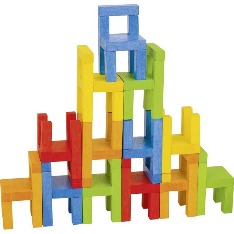Jeu de balancier, les chaises| Bambin Bois, jeux et jouets en bois