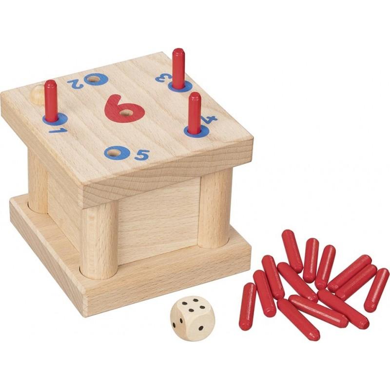 Jeu de plateau, Il me faut un 6 !  Bambin Bois, jeux et jouets en bois