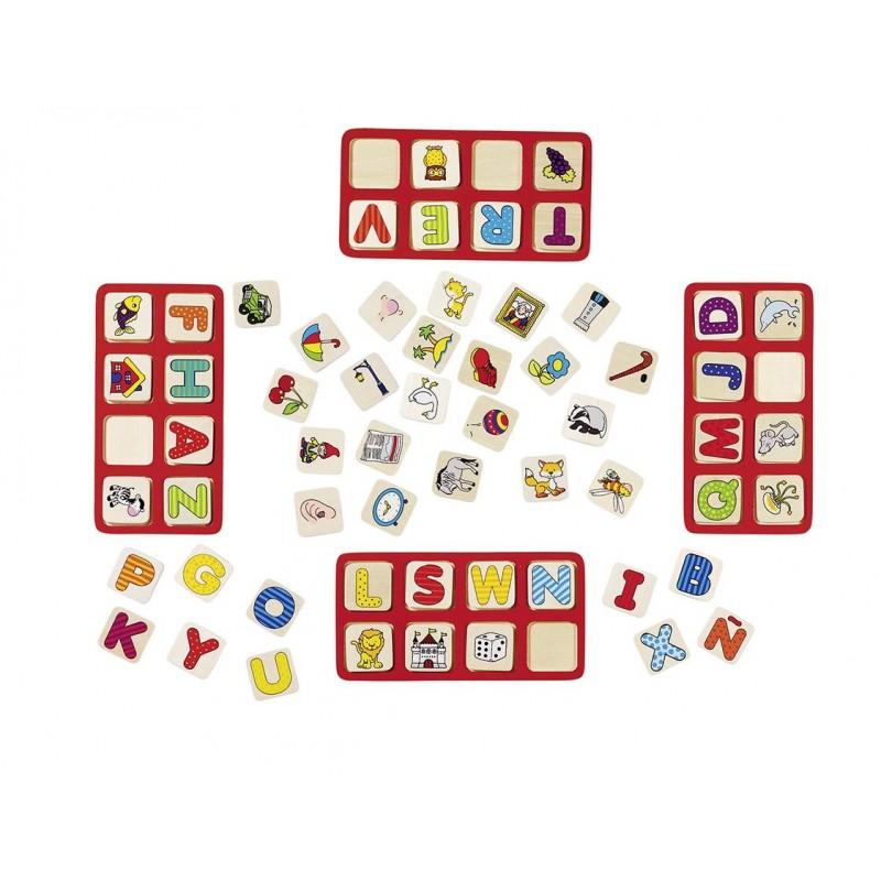 Mon jeu d'Alphabet en bois  Bambin Bois, jeux et jouets en bois