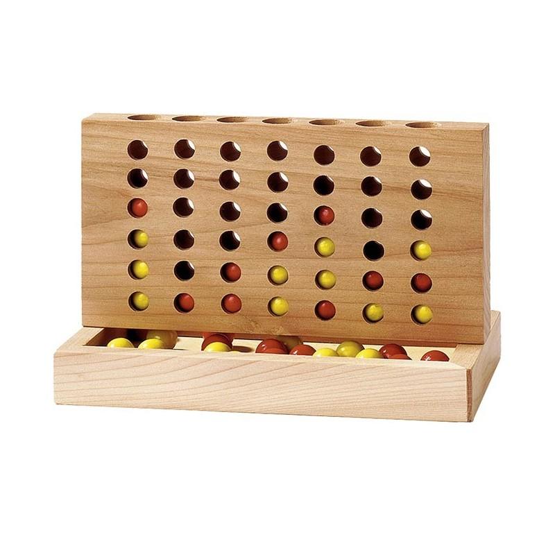 Quatre à la suite - Format compact  Bambin Bois, jeux et jouets en bois