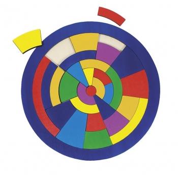Puzzle bois-Cercle
