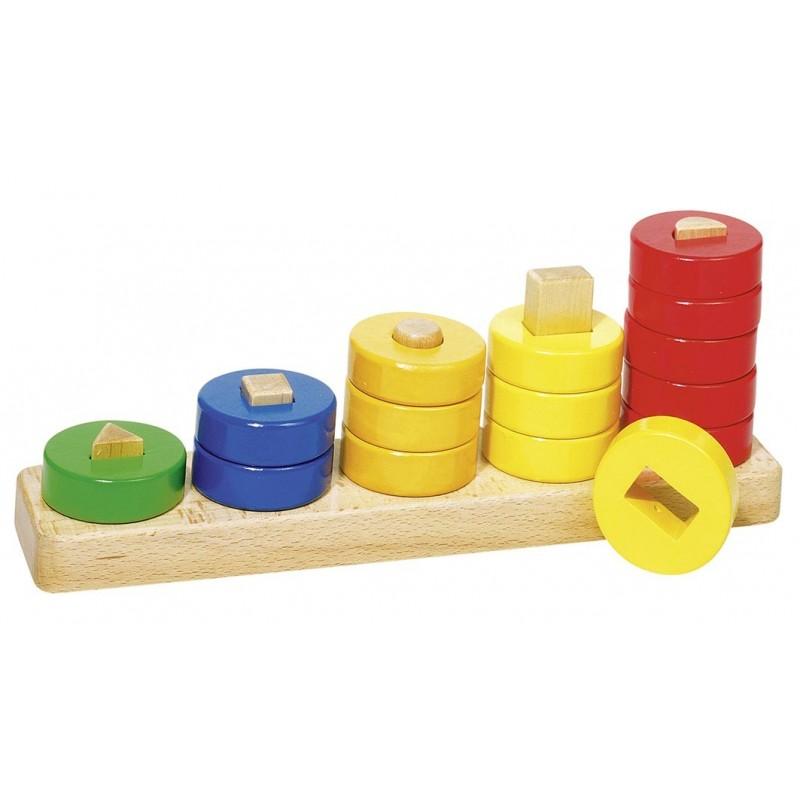 Jeu en bois pour apprendre à compter | BambinBois