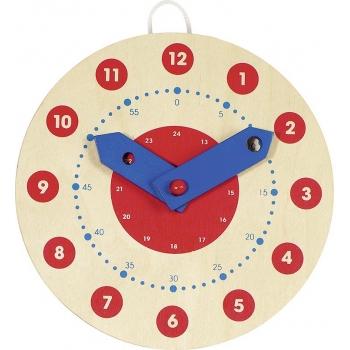 Horloge pour apprendre à...