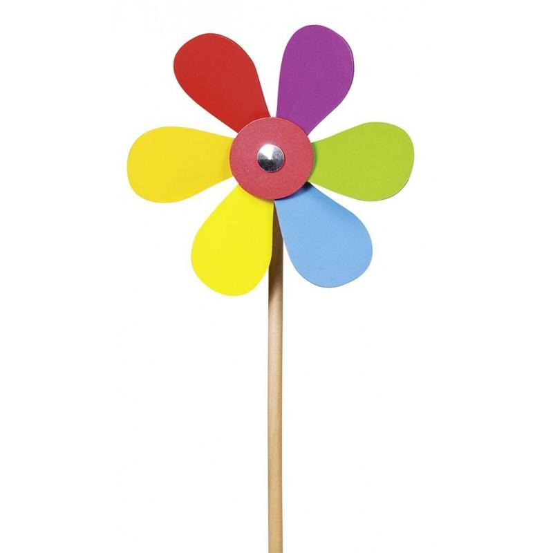 Moulin à vent, fleur | BambinBois