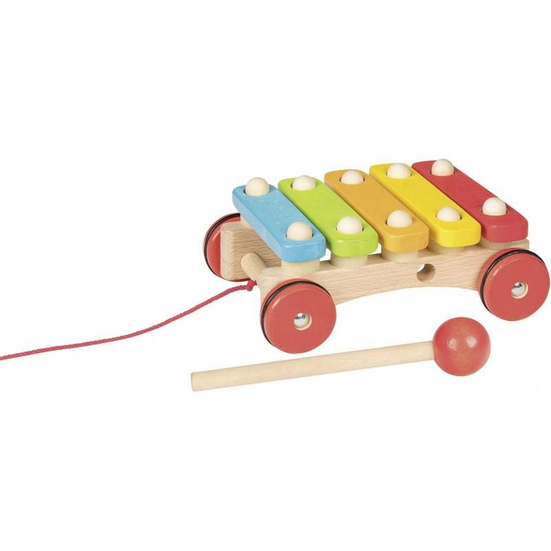Xylophone à roulettes | BambinBois