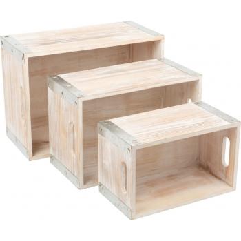 Caisse en bois Style...