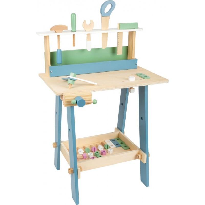 Établi en bois enfant - Nordique-Jeux de rôles-Bricolage en bois | BambinBois