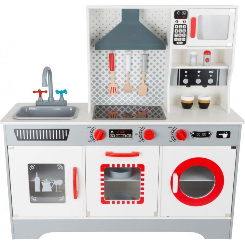 Cuisine de luxe pour enfants - Jeux d'imitations en bois-Jeux de rôles-Dans la cuisine en bois | BambinBois